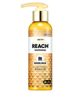 リーチ 歯みがきポンプ式 レモンミントの香り (180g) REACH 薬用ハミガキ 【医薬部外品】