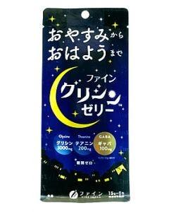 ファイン グリシンゼリー 白ぶどう風味 (15g×6包) スティックゼリー ※軽減税率対象商品
