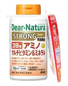 アサヒ ディアナチュラ ストロング39 アミノ マルチビタミン&ミネラル 100日分 + EPA 10日分 (1セット) 栄養機能食品 ※軽減税率対象商品