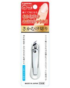 グリーンベル さかむけ切造 さかむけ切り ホワイト SE-031 (1個) 爪切り