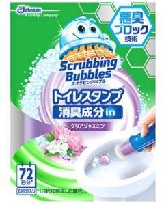 ジョンソン スクラビングバブル トイレスタンプ 消臭成分in クリアジャスミン 本体 (1セット) トイレ用 洗剤