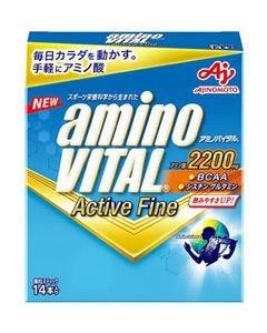 味の素 アミノバイタル アクティブファイン (14本) アミノ酸2200mg 顆粒スティック ※軽減税率対象商品