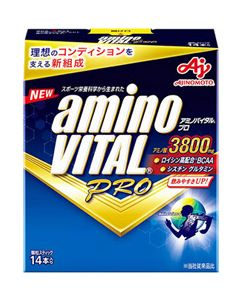 味の素 アミノバイタル プロ (14本) アミノ酸3800mg 顆粒スティック ※軽減税率対象商品