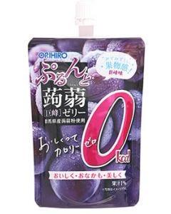 オリヒロ ぷるんと蒟蒻ゼリー スタンディング カロリーゼロ 巨峰 (130g) ※軽減税率対象商品
