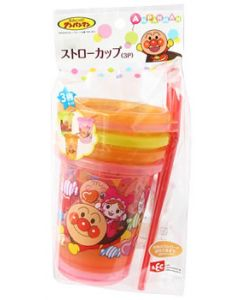 レック アンパンマンストローカップ (3個) ベビー用食器