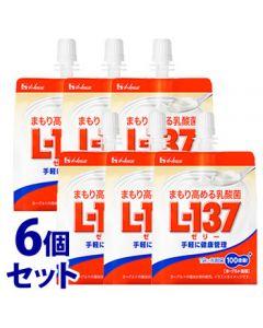ハウスウェルネス まもり高める乳酸菌 L-137 ゼリー (180g×6袋) ヨーグルト風味 ※軽減税率対象商品