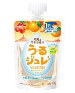 森永乳業 果実とミネラルの うるジュレ オレンジ (100g) ORANGE 1歳頃から ベビー飲料 ※軽減税率対象商品
