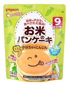 ピジョン お米のパンケーキ かぼちゃ&にんじん 9ヶ月頃から 約8枚分 (144g) ※軽減税率対象商品