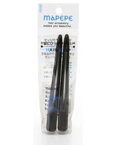 シャンティ マペペ ヘアクリップL ブラック (2個入) ヘアクリップ