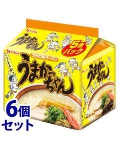 《セット販売》 ハウス食品 うまかっちゃん (5食入)×6個セット 即席麺 ラーメン ※軽減税率対象商品
