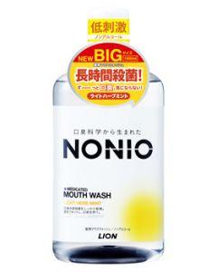 【特売セール】 ライオン NONIO ノニオ マウスウォッシュ ノンアルコール ライトハーブミント (1000mL) 薬用 洗口液 【医薬部外品】