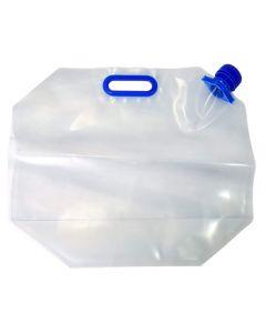 プラテック 折りたたみ水タンク 6L (1個) 携帯用水タンク 防災用品