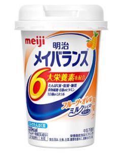 明治 メイバランス ミニカップ フルーツ・オレ味 (125mL) Miniカップ 栄養機能食品 ※軽減税率対象商品