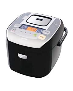 アイリスオーヤマ 米屋の旨み 銘柄炊き 圧力IHジャー炊飯器 10合 RC-PA10-B ブラック (1台)