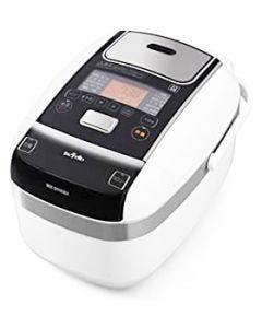アイリスオーヤマ 米屋の旨み 銘柄量り炊き 圧力IHジャー炊飯器 5.5合 分離なし ホワイト RC-PC50-W (1台)