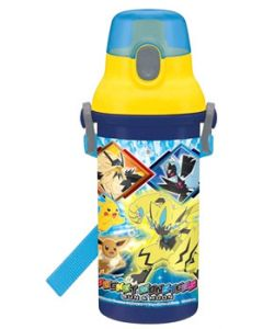 スケーター 食洗機対応 直飲プラワンタッチボトル ポケットモンスター サン&ムーン 19 480mL PSB5SAN (1個) 子供用 水筒 ポケモン