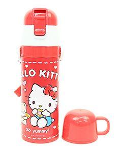 スケーター 超軽量 2WAY ステンレスボトル SKDC4 ハローキティ クッキー (1個) 子供用 水筒