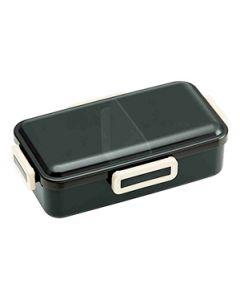 スケーター ふわっと弁当箱L レトロフレンチ ブラック (1個) ランチボックス