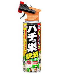 アース製薬 アースガーデン ハチの巣撃滅 (480mL) 殺虫忌避剤