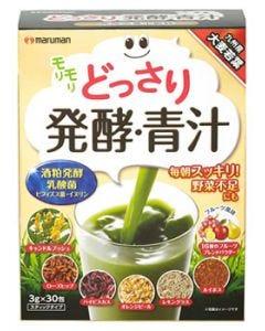 マルマン どっさり発酵・青汁 (3g×30包) 大麦若葉 青汁 健康食品 ※軽減税率対象商品