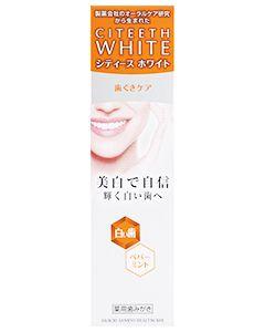 第一三共ヘルスケア シティースホワイト 歯ぐきケア ペパーミント (110g) 薬用歯みがき 【医薬部外品】
