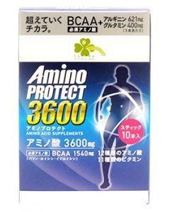 くらしリズム アミノプロテクト レモンフレーバー 顆粒 スティック (4.5g×10本入) アミノ酸3600mg BCAA1540mg ※軽減税率対象商品