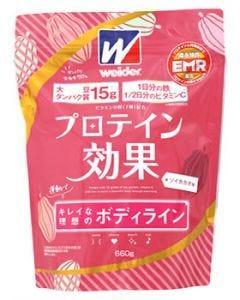 森永製菓 ウイダー プロテイン効果 ソイカカオ味 約30回分 (660g) プロテイン ※軽減税率対象商品