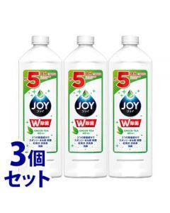 【特売セール】 《セット販売》 P&G 除菌ジョイコンパクト 緑茶の香り つめかえ用 特大 (700mL)×3個セット 詰め替え用 食器用洗剤 【P&G】
