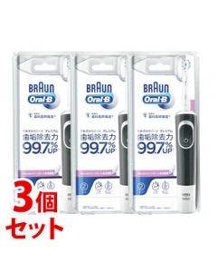 《セット販売》 P&G ブラウン すみずみクリーン プレミアム D1004132BK (1台)×3個セット 電動歯ブラシ 【P&G】