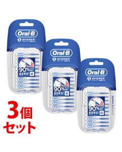 《セット販売》 P&G ブラウン オーラルB 歯間ソフトピック (40本)×3個セット 歯間ブラシ 【P&G】