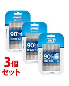 《セット販売》 P&G ブラウン オーラルB フロスピック ディープクリーン (60本)×3個セット 糸つきようじ 【P&G】