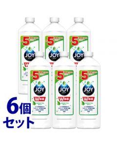【特売セール】 《セット販売》 P&G 除菌ジョイコンパクト 緑茶の香り つめかえ用 特大 (700mL)×6個セット 詰め替え用 食器用洗剤 【P&G】
