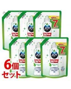 【特売セール】 《セット販売》 P&G 除菌ジョイコンパクト 緑茶の香り つめかえ用 超特大 (960mL)×6個セット 食器用洗剤 【P&G】
