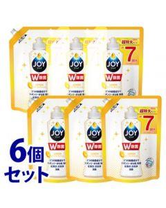 【特売セール】 《セット販売》 P&G 除菌ジョイコンパクト スパークリングレモンの香り つめかえ用 超特大 (960mL)×6個セット 食器用洗剤 【P&G】