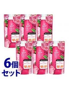 《セット販売》 P&G レノア リセット フレッシュローズ&ナチュラルガーデンの香り つめかえ用 (480mL)×6個セット 詰め替え用 柔軟仕上げ剤 【P&G】