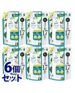 《セット販売》 P&G レノア リセット ヤマユリ&グリーンブーケの香り つめかえ用 特大サイズ (795mL)×6個セット 詰め替え用 柔軟仕上げ剤 【P&G】