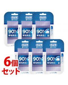 《セット販売》 P&G ブラウン オーラルB フロスピック ホワイトニング (60本)×6個セット 糸つきようじ 【P&G】