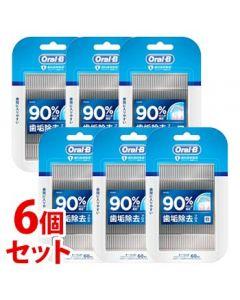 《セット販売》 P&G ブラウン オーラルB フロスピック ディープクリーン (60本)×6個セット 糸つきようじ 【P&G】