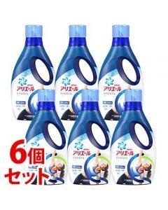 《セット販売》 P&G アリエールジェル プラチナスポーツ 本体 (750g)×6個セット  衣料用 濃縮液体洗剤 【P&G】