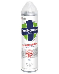 ジョンソン ファミリーガード 除菌スプレー 無香料 (300mL) 住居用除菌剤
