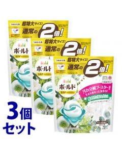 【特売セール】 《セット販売》 P&G ボールド ジェルボール 3D グリーンガーデン&ミュゲの香り つめかえ用 超特大サイズ (30個)×3個セット 詰め替え用 洗濯洗剤 【P&G】