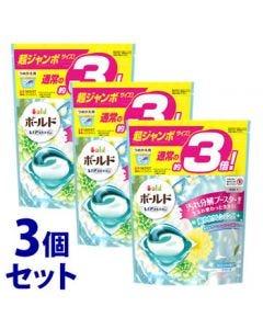 《セット販売》 P&G ボールド ジェルボール 3D 爽やかプレミアムクリーンの香り つめかえ用 超ジャンボサイズ (46個)×3個セット 詰め替え用 洗濯洗剤 【P&G】
