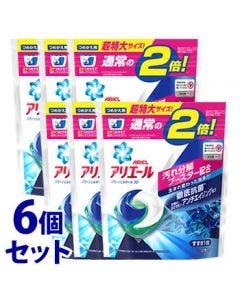 【特売セール】 《セット販売》 P&G アリエール パワージェルボール 3D つめかえ用 超特大サイズ (32個)×6個セット 詰め替え用 洗濯洗剤 【P&G】