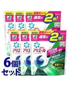 【特売セール】 《セット販売》 P&G アリエール リビングドライジェルボール 3D つめかえ用 超特大サイズ (32個)×6個セット 詰め替え用 部屋干し用 洗濯洗剤 【P&G】