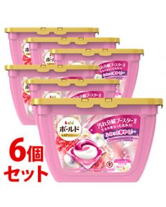 【特売セール】 《セット販売》 P&G ボールド ジェルボール 3D 癒しのプレミアムブロッサムの香り 本体 (17個)×6個セット 洗濯洗剤 【P&G】