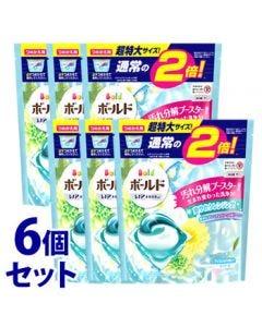 【特売セール】 《セット販売》 P&G ボールド ジェルボール 3D 爽やかプレミアムクリーンの香り つめかえ用 超特大サイズ (32個)×6個セット 詰め替え用 洗濯用洗剤 【P&G】