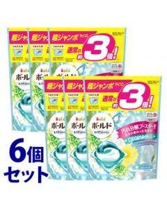 《セット販売》 P&G ボールド ジェルボール 3D 爽やかプレミアムクリーンの香り つめかえ用 超ジャンボサイズ (46個)×6個セット 詰め替え用 洗濯洗剤 【P&G】
