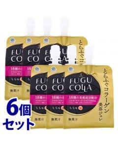 《セット販売》 アース製薬 とらふぐコラーゲン美容ジュレ もも味 (150g)×6個セット ゼリー飲料 ※軽減税率対象商品