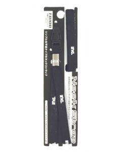 多摩電子工業 平紐ネックストラップ ブラック T8100 (1個) スマホ用ストラップ