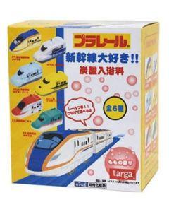 タルガ プラレール 新幹線大好き 炭酸入浴料 (1個) 車両+レール付き 入浴剤
